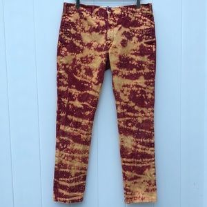 Levi's Custom Tie Dye Straight Leg Pants